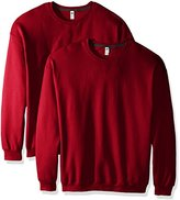Fruit of the Loom Men's Crew Sweatshirt (2 Pack)