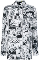 Iceberg comic print shirt - women - Polyester - 40