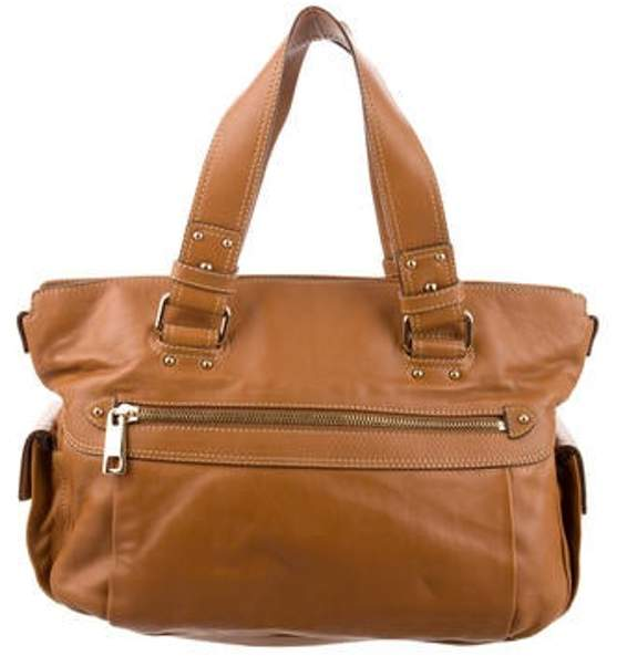 Marc Jacobs Grained Leather Bag Tan Grained Leather Bag