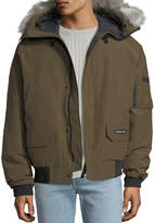Canada Goose Men's Chilliwack Down Bomber Jacket w/ Fur Hood