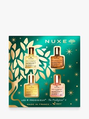 Nuxe Huile Prodigieuse The Prodigieux 4 Skincare Gift Set