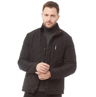 Feraud Mens Quilted Jacket Black