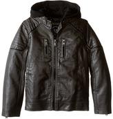 Urban Republic Kids Faux Leather Biker Jacket (Little Kids)