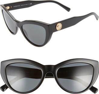 Versace 53mm Cat Eye Sunglasses