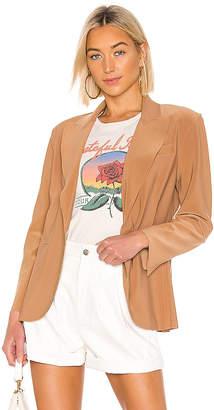 Norma Kamali Single Breasted Blazer