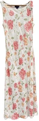 Ann Taylor White Silk Dress for Women Vintage