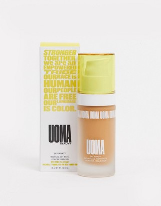 Uoma Beauty Say What?! Soft Matte Foundation Bronze Venus