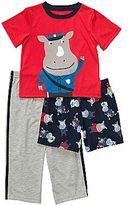 Carter's 3-pc. Police Rhino Pajamas - Boys 12m-24m