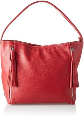 Arcadia Adriel Womens Shoulder Bag Rosso (Rubino) 15x27x38 cm (W x H L)