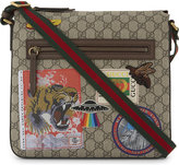 Gucci Canvas Stickers Messenger Bag