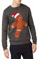 Topman Men's Gingerbread Man Sweater