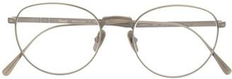 Persol Titanium Round Eye Glasses