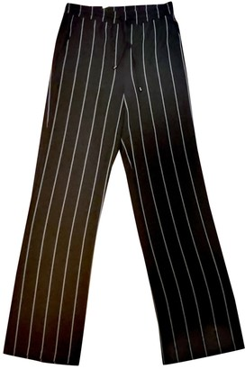 Anine Bing Black Trousers for Women