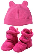 Zutano Infant Girl's 'Cozie' Hat & Bootie Set