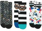 Stance Napkin Apocalypse Sock - 3 Pack - Toddler Boys'