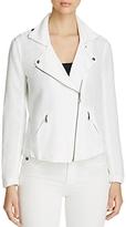 Nic+Zoe Linen Moto Jacket
