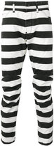 G Star G-Star - prison stripe pants - men - Cotton/Polyester - 36
