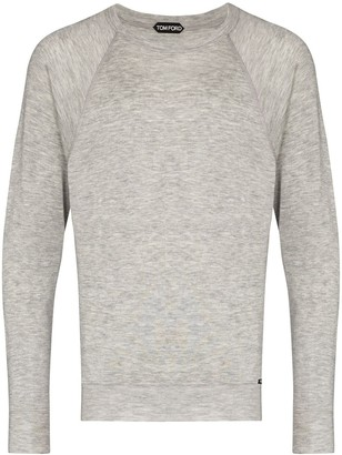 Tom Ford Long-Sleeve Cashmere Sweatshirt