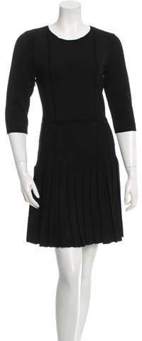 Cushnie et Ochs Knit Pleated Dress w/ Tags