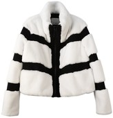 N'onat Black & White Gold Coat