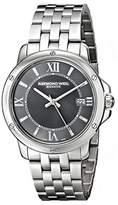 Raymond Weil Men's 5591-ST-00607 Tango Analog Display Swiss Quartz Silver Watch