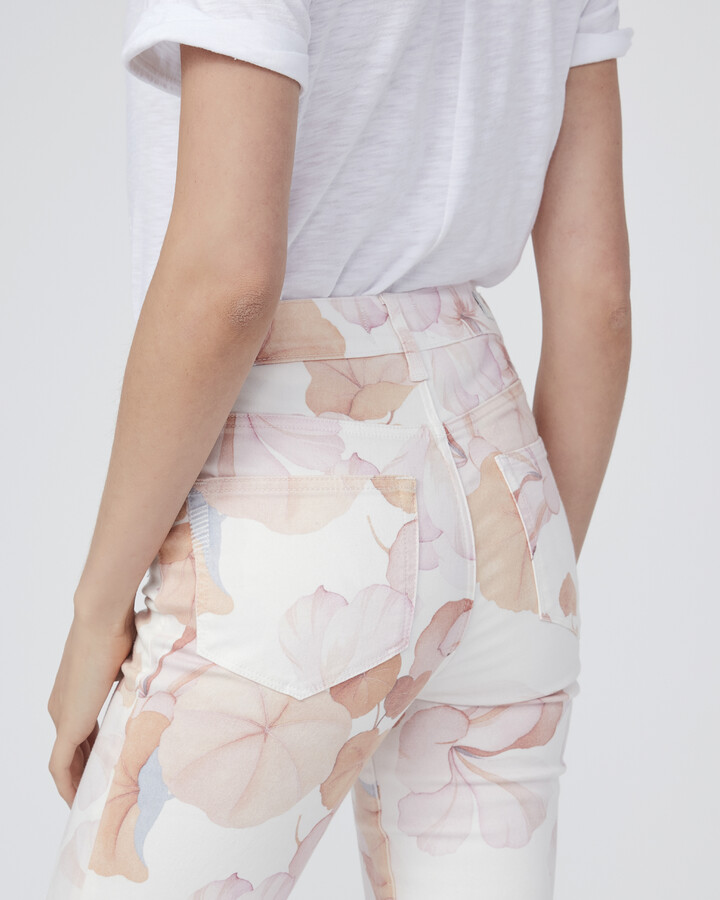Thumbnail for your product : Paige Claudine Raw Hem-Faded Georgia Blooms
