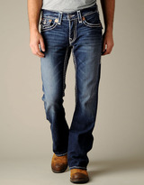 True Religion Men's Joey Natural Super T - Urban Cowboy Dark