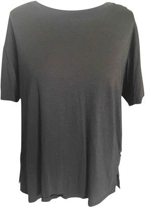 Theory Grey Cotton Top for Women