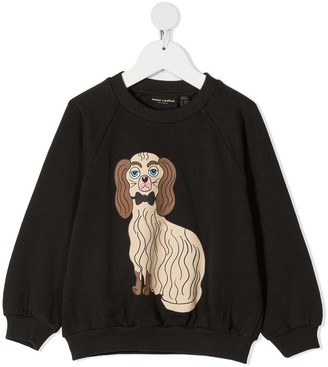 Mini Rodini Dog-Print Sweatshirt