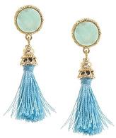 Wild Lilies Jewelry Druzy Tassel Earrings