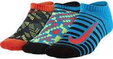 Nike 3-pk. Graphic No-Show Socks - Boys