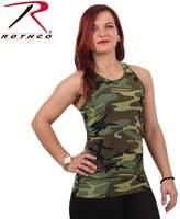 Rothco Womens Camo Workout Performance Tank Top - , X Large