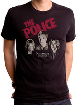 Goodie Two Sleeves Black The Police Next to You Tee - Men's Regular