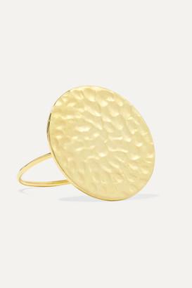 Jennifer Meyer Hammered 18-karat Gold Ring - US6