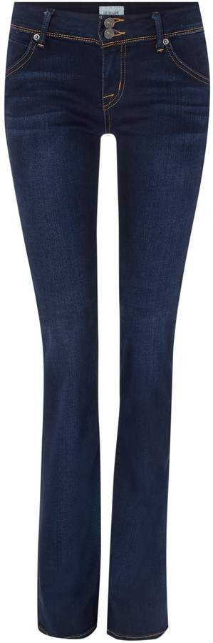 Hudson Beth mid rise baby bootcut jean in oracle