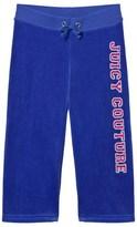 Juicy Couture Royal Blue Glitter Laurel Logo Track Pants
