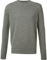 The Elder Statesman cashmere crew neck jumper