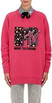 Marc Jacobs Women's Embellished Wool-Blend Sweatshirt-PINK