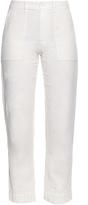 Raquel Allegra Canton lightweight cotton-twill trousers