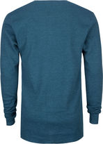 SHOUTHOUSE Solid Mens Thermal Henley