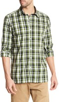 Victorinox Long Sleeve Plaid Tailored Fit Shirt