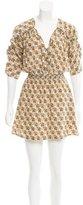 Mayle Animal Print Mini Dress