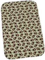 Carter's keep-me-dry monkey flannel bassinet pad