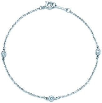 Tiffany & Co. Elsa Peretti Diamonds by the Yard bracelet in platinum