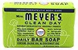 Mrs. Meyer's Daily Bar Soap, Lemon Verbena 5.3 Oz by Mrs Meyers (Pack of 2)