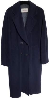 Max Mara 101801 Blue Wool Coats