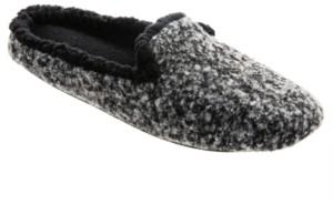 Isotoner Signature Isotoner Heathered Knit Jessie Hoodback Slipper, Online Only
