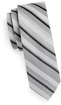 Calvin Klein Slim Mixed Stripe Silk-Blend Tie