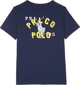 Ralph Lauren Graphic cotton T-shirt 2-7 years