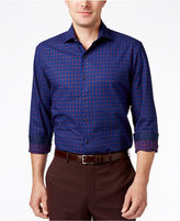 Tasso Elba Men's Plaid Long-Sleeve Classic-Fit Shirt, Only at Macy's